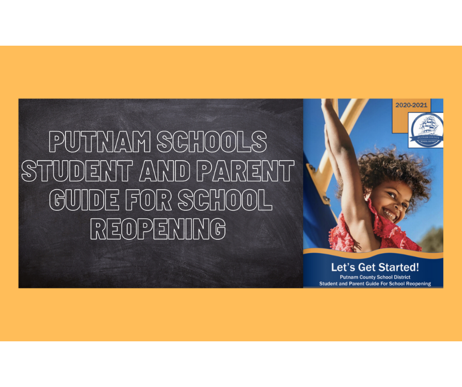 Putnam School's Student and Parents School Reopening Guide