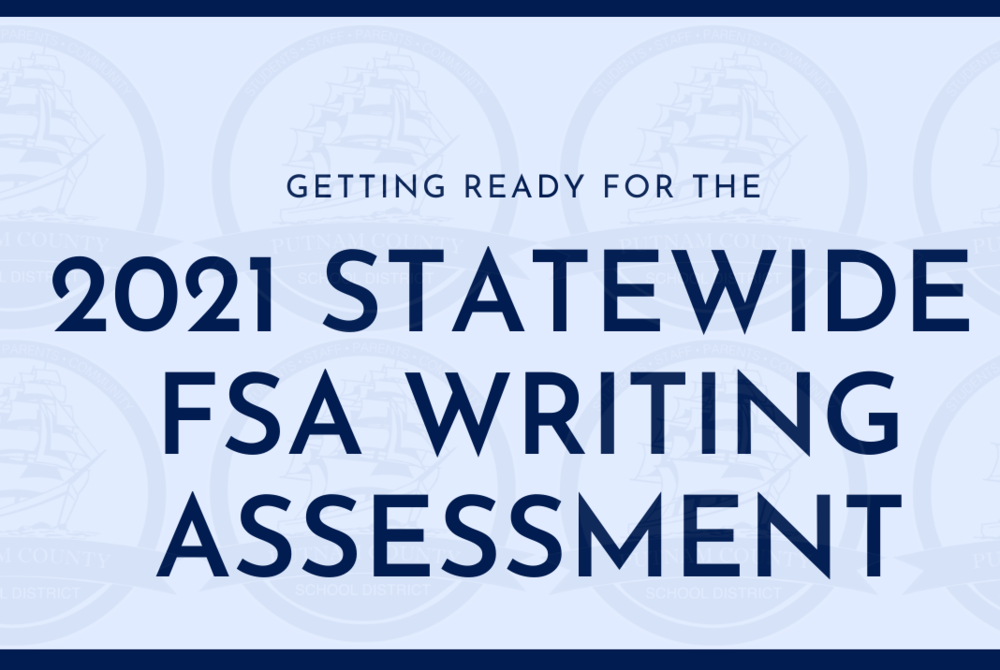 2021 Statewide FSA Writing Assessment