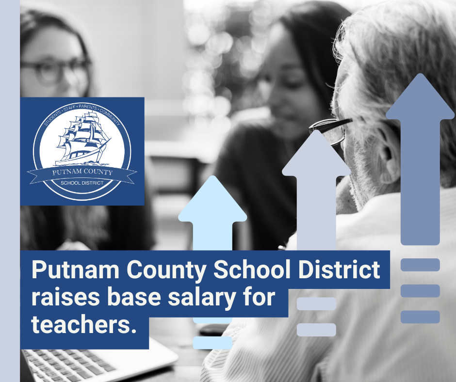 Putnam County School District Raises Base Salary for Teachers