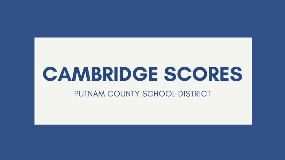 PCSD Cambridge Scores Success